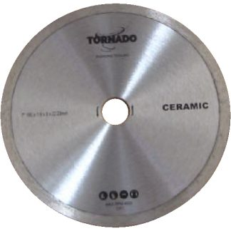 Diamond Tile Continuous Rim Blade