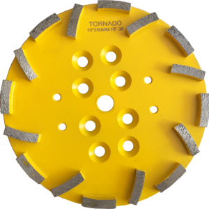 """8"""" 200mm and 10"""" 250mm Diamond Grinding Plates"""