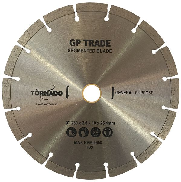 Trade Diamond Segmented Blades